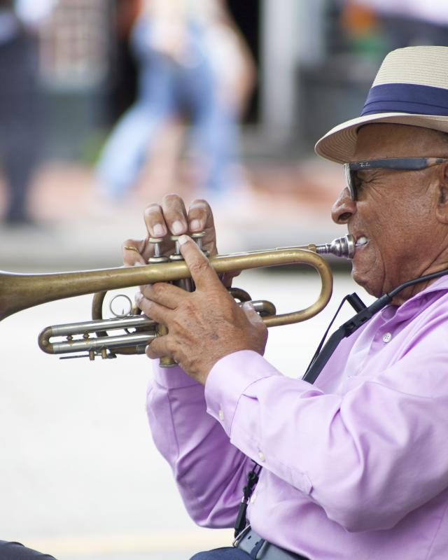 French Quarter Street Performer