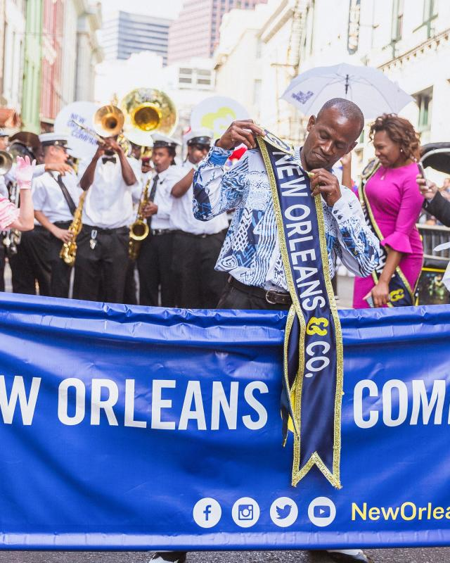 New Orleans & Company Brand Launch Parade