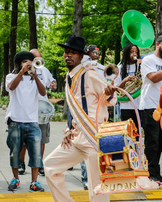 Sudan Social Aid and Pleasure Club - Second Line