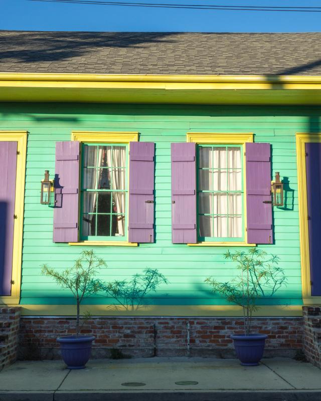 Paint the Colors of NOLA Architecture