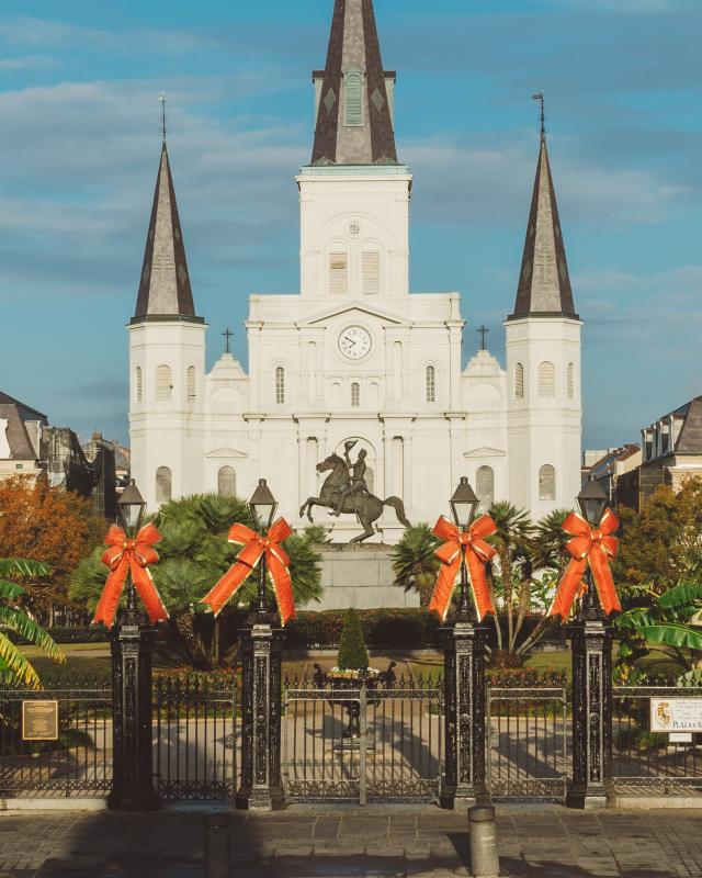 Jackson Square - Christmas Decorations