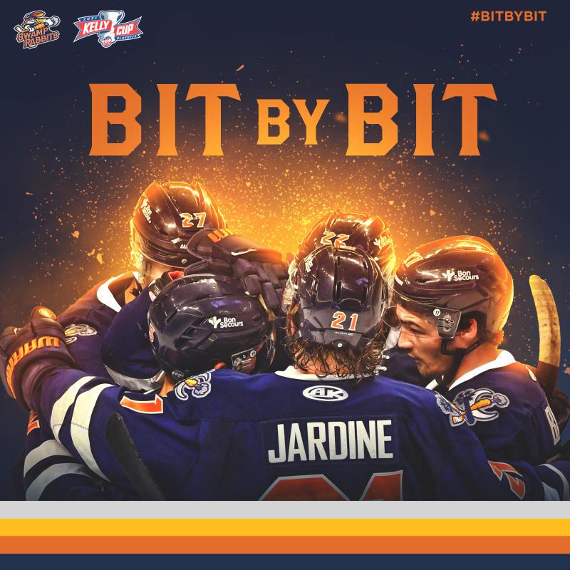 #BitByBit Greenville Swamp Rabbit Hockey Promotion