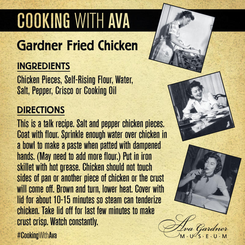 Gardner Fried Chicken Recipe