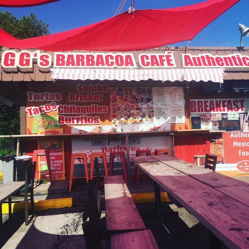 GG's Barbacoa Cafe Exterior
