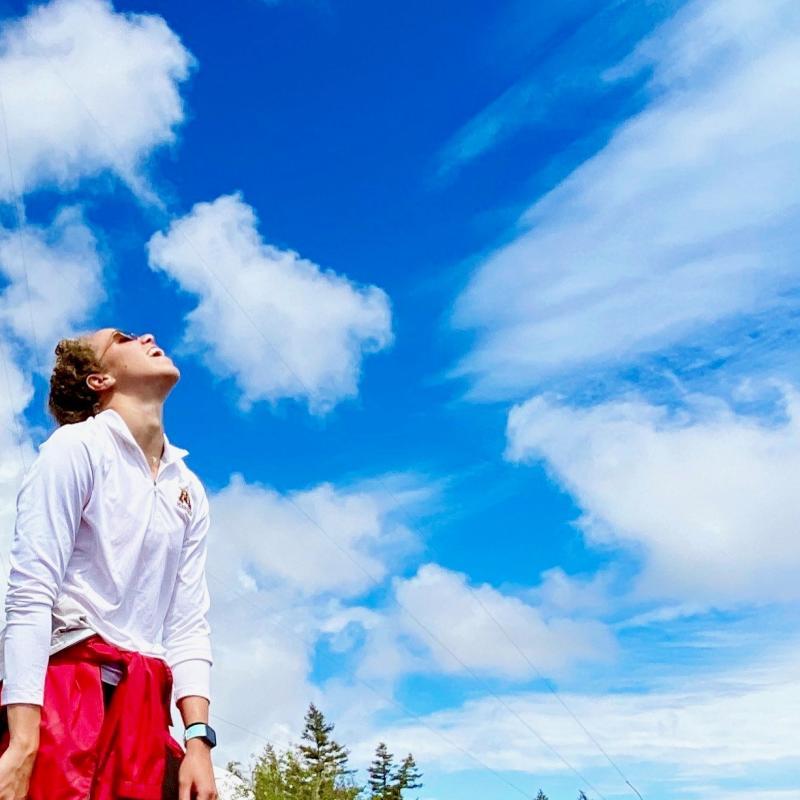 Kierra Smith - Hiking