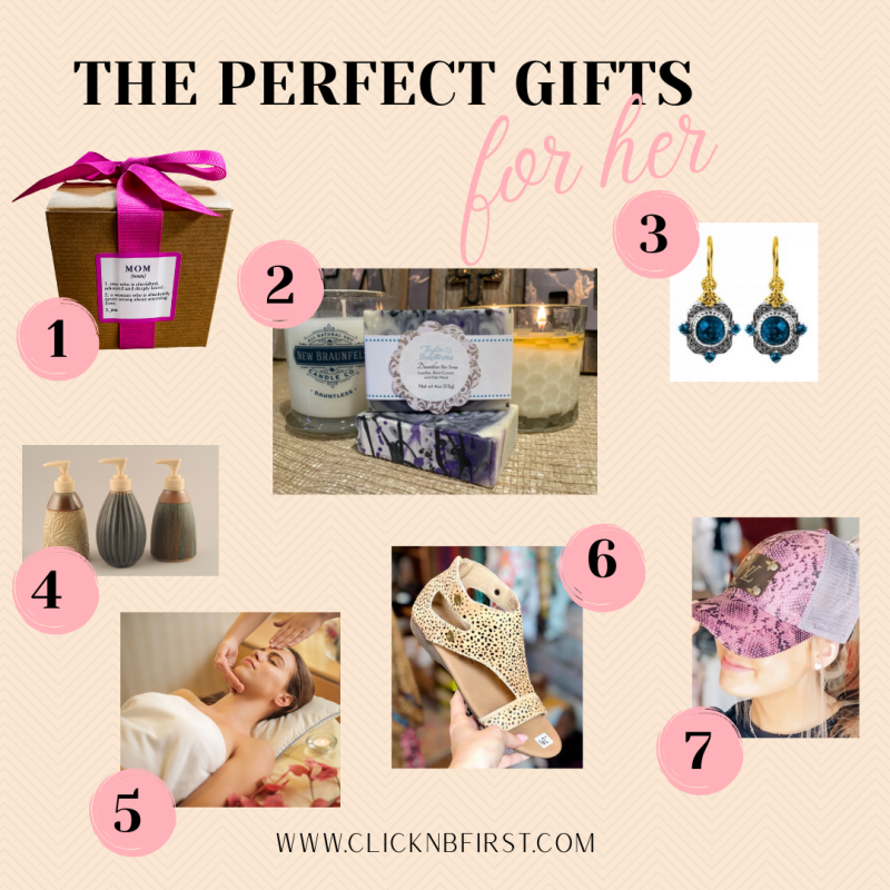 gift guide for her- non holiday