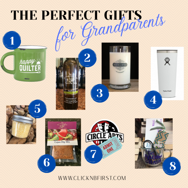 grandparents gift guide -non holiday