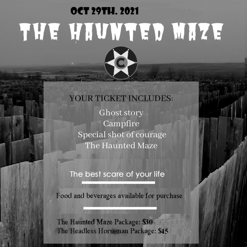 Champetre Country Haunted Maze 2021