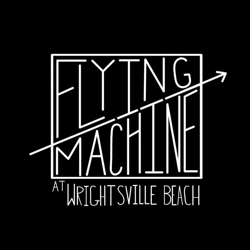Flying Machine at Wrightsville Beach logo