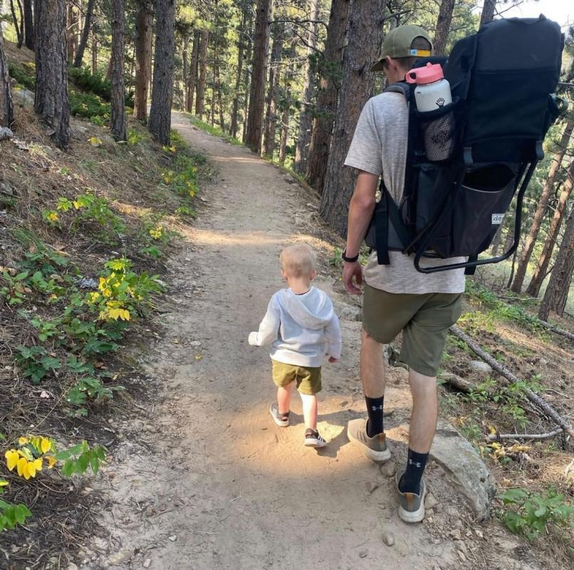 The Bridle Trail Fall Casper Mountain
