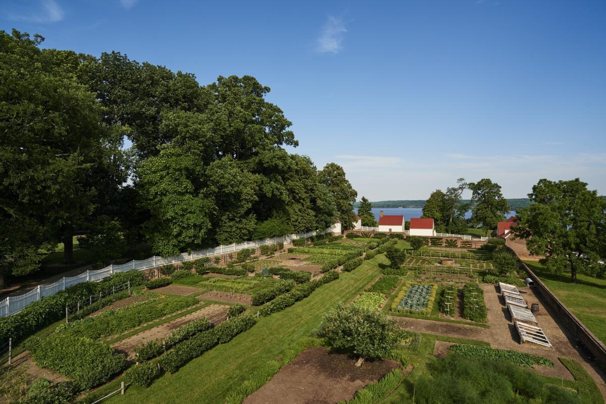 George Washington's Mount Vernon - Kitchen Garden