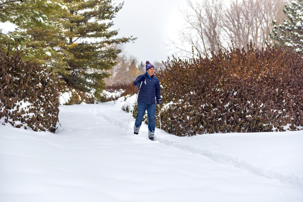 Cross Country Skiing in Headwaters Park