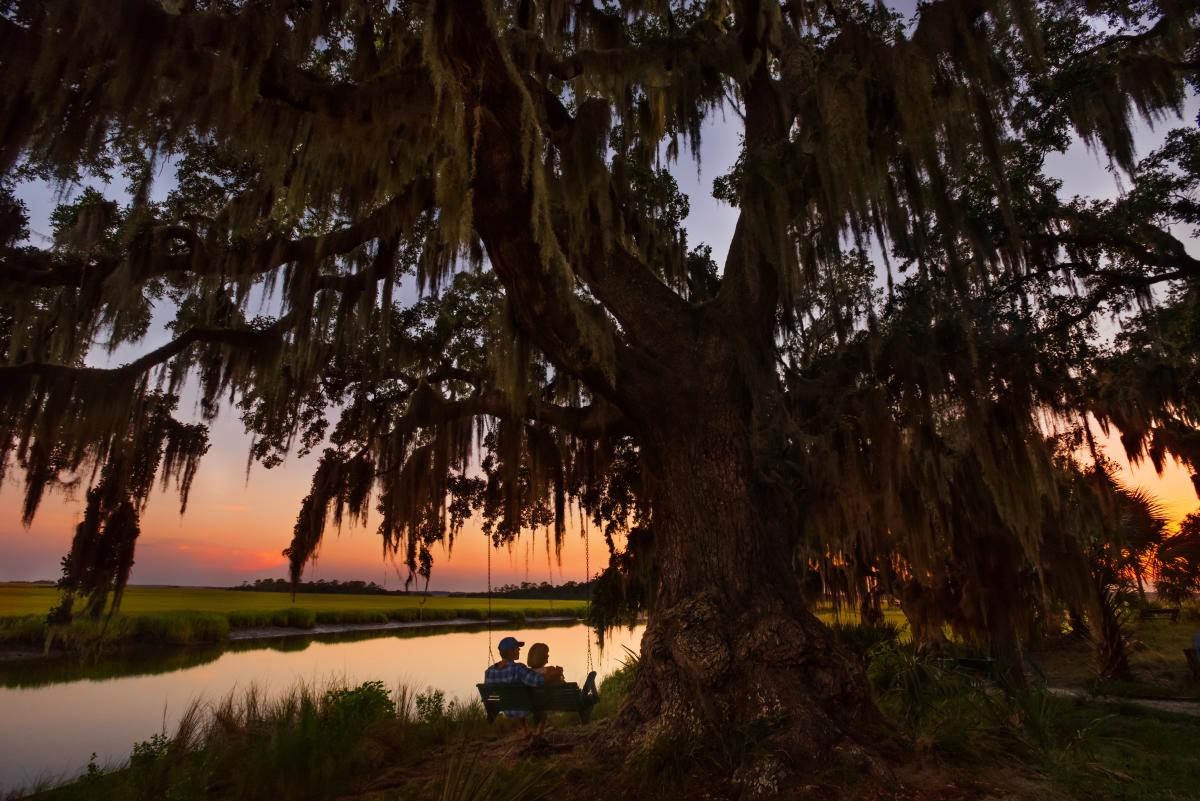 Little St. Simons Island is home to an incredible eco-resort on the Georgia coast