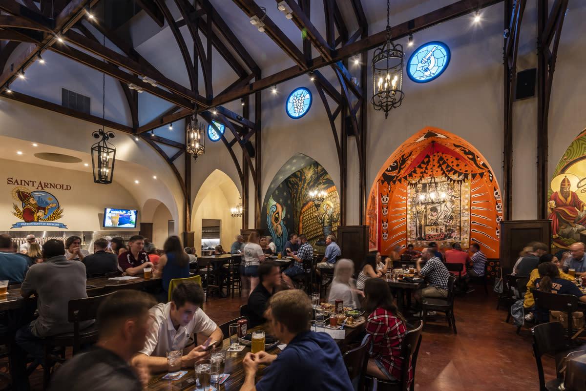 Saint Arnold Beer Garden Beer Hall
