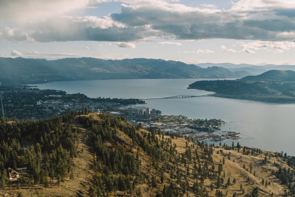 Knox Mountain (Aerial)