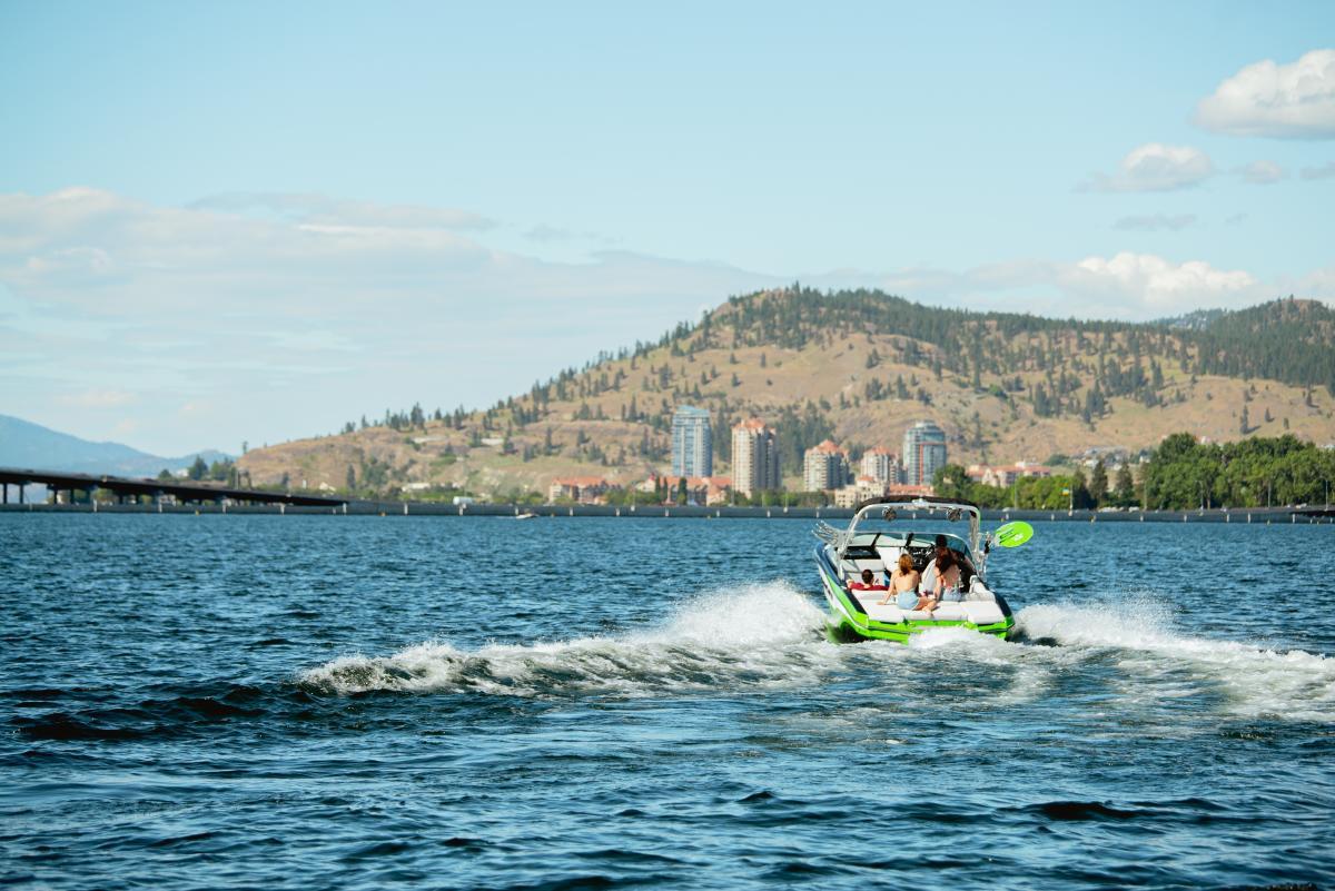 Boating on Okanagan Lake (3)
