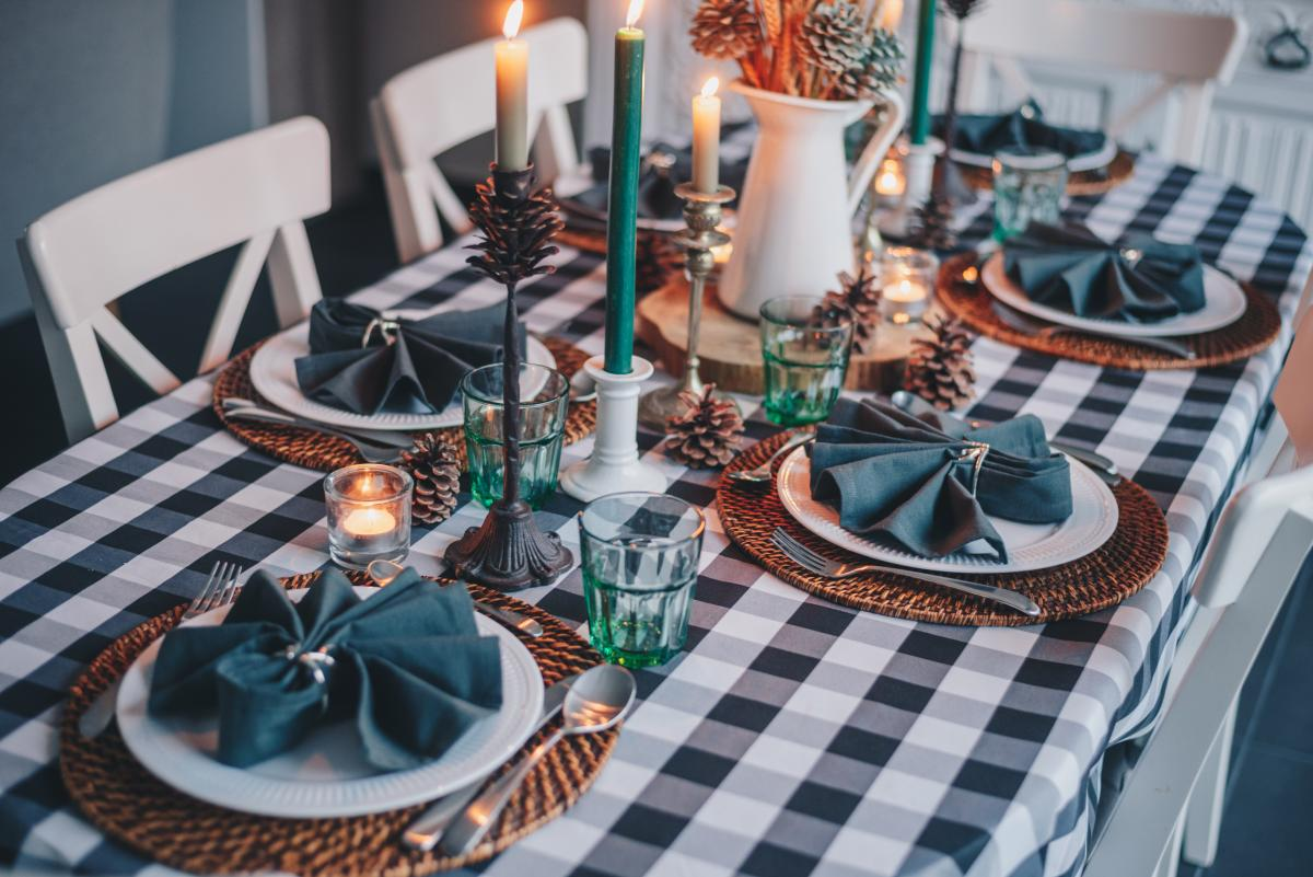Dining at Home, Table Set