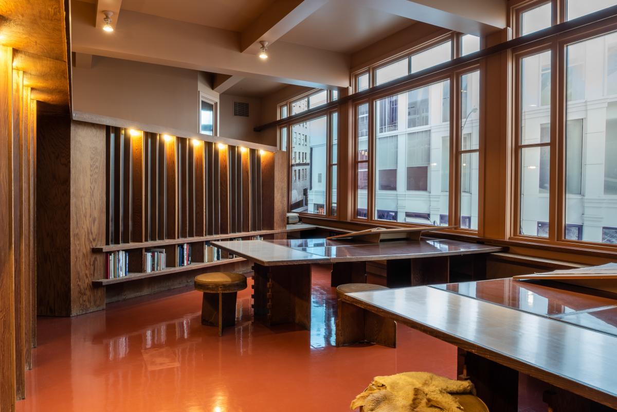 Frank Lloyd Wright's San Francisco Office