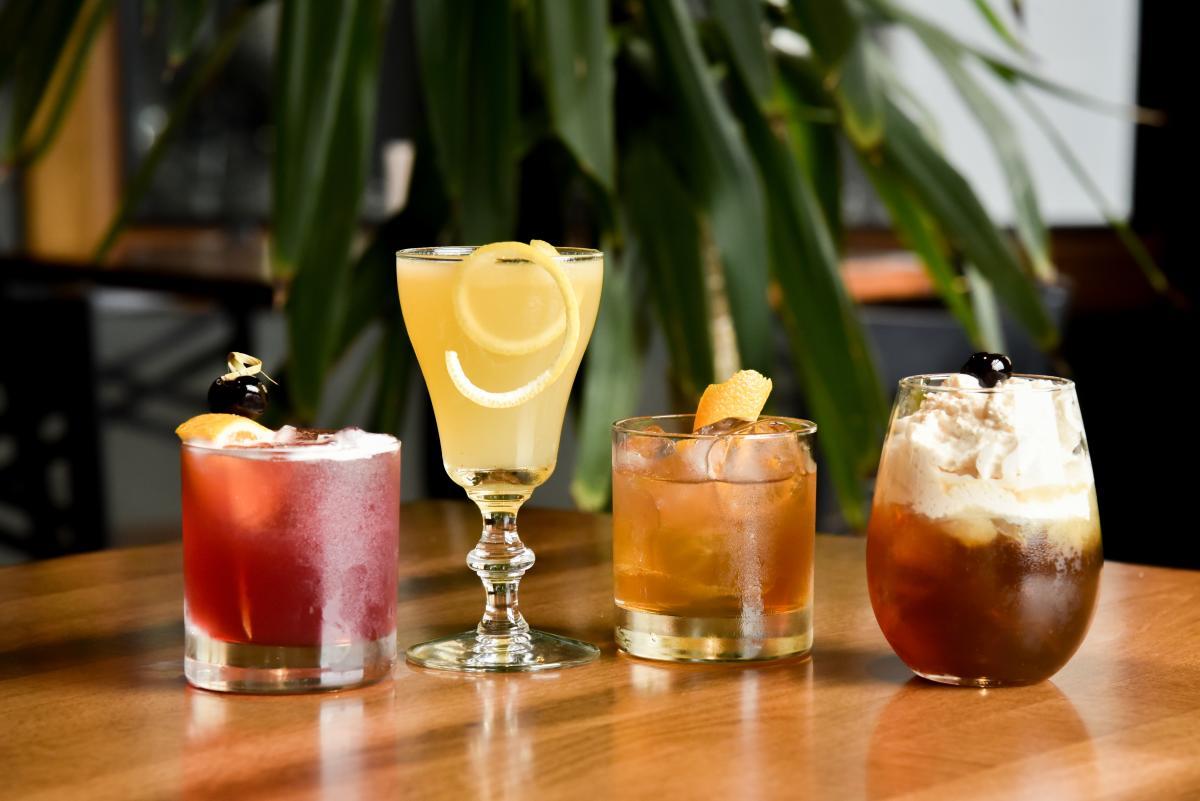 Four cocktails from Wollersheim Distillery