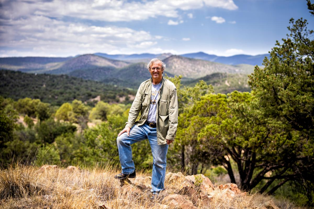 Russ Kleinman in the Gila National Forest