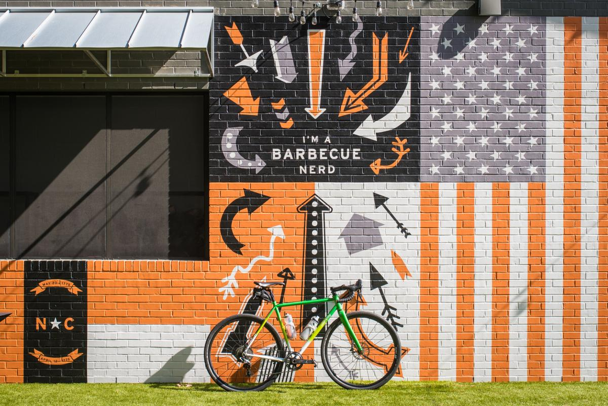 Prime Barbecue Mural with Bike