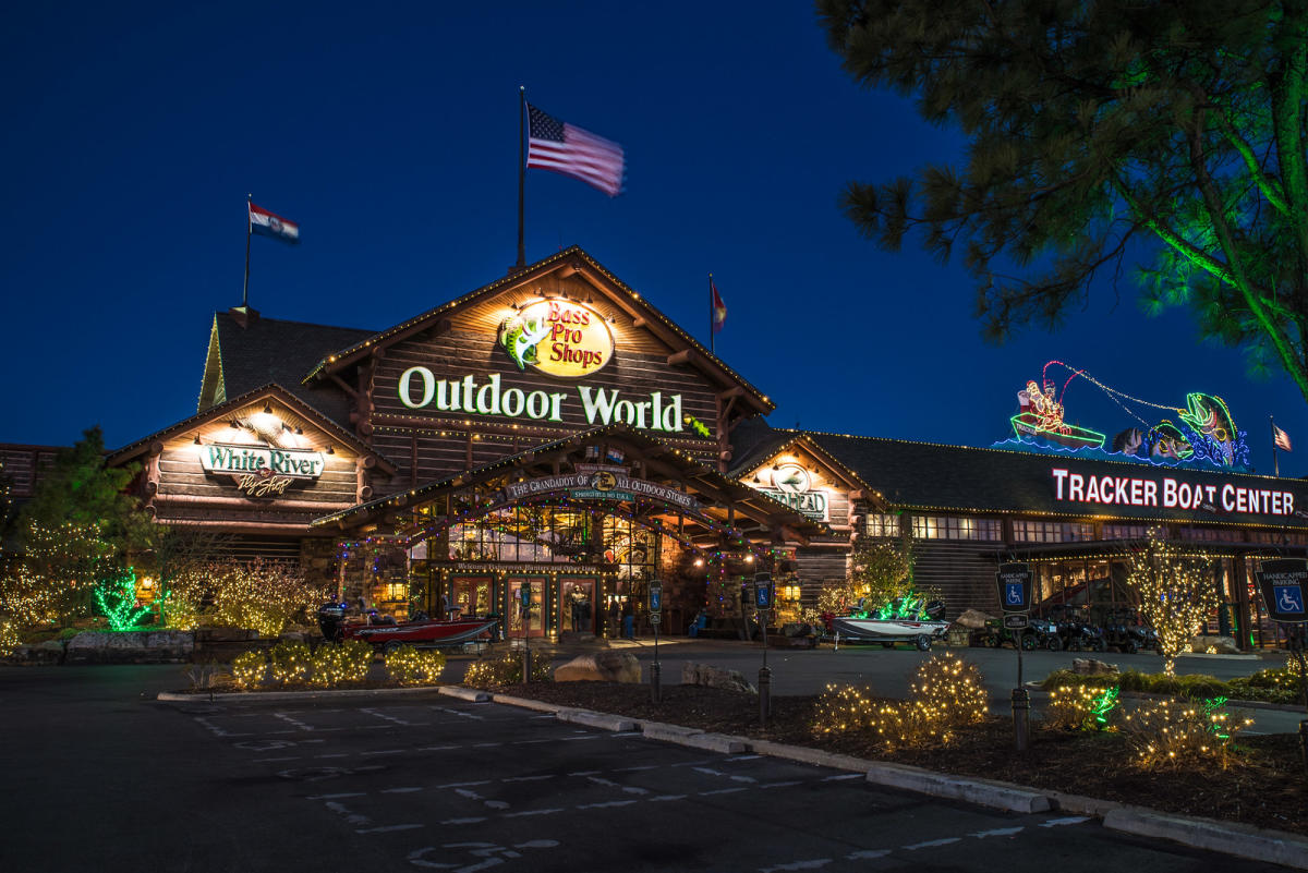 Winter Wonderland Bass Pro Shops in Springfield, Missouri