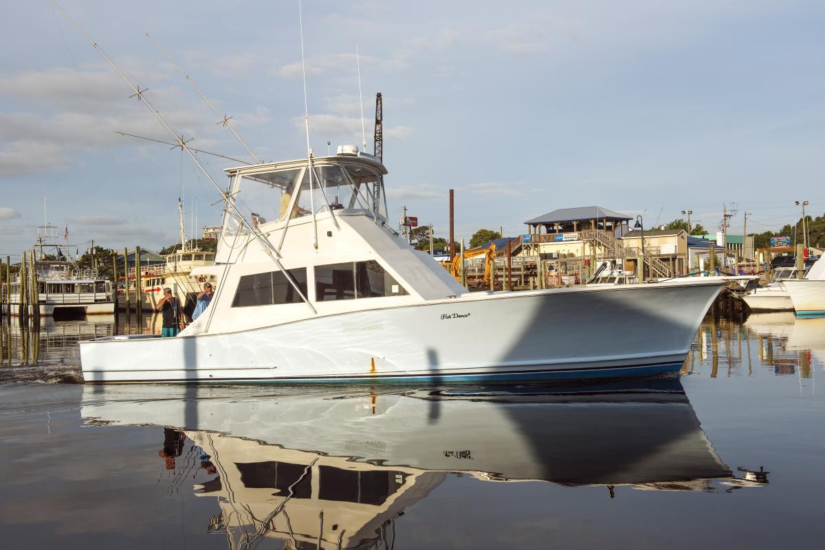 Carolina Beach Marina Charter Boat