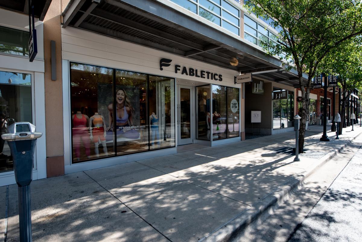 Fabletics Storefront in Market Street