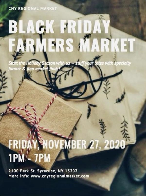 CNY Regional Market Black Friday Flyer