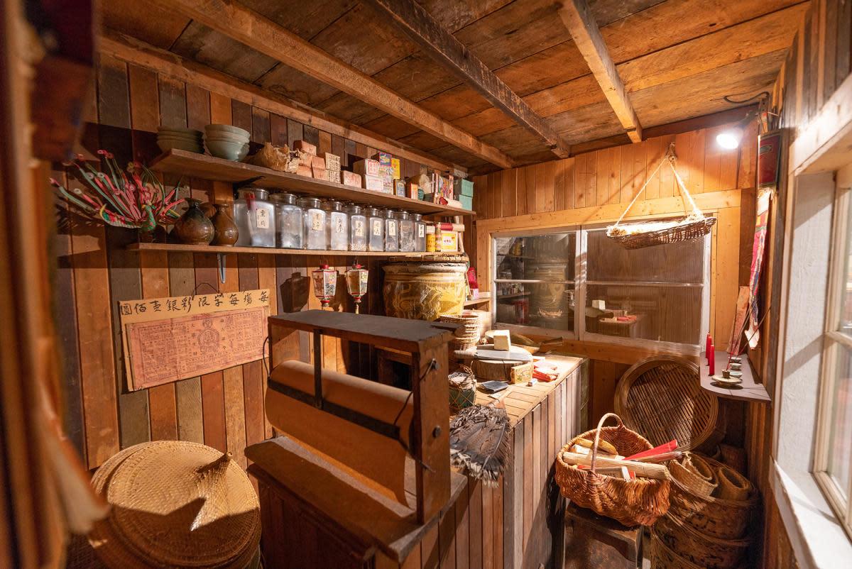 Chinese Grocery Store - Okanagan Heritage Museum