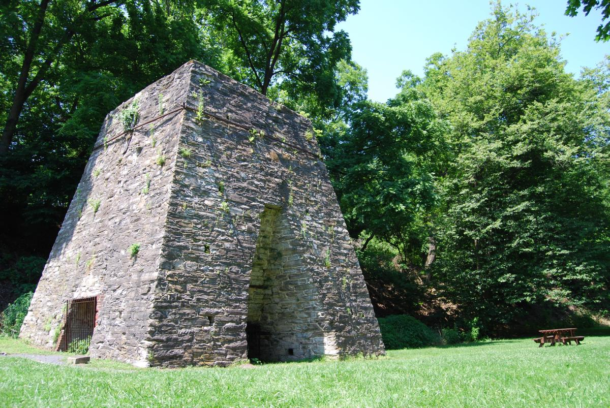 Boiling Springs Iron Furnace In The Cumberland Valley