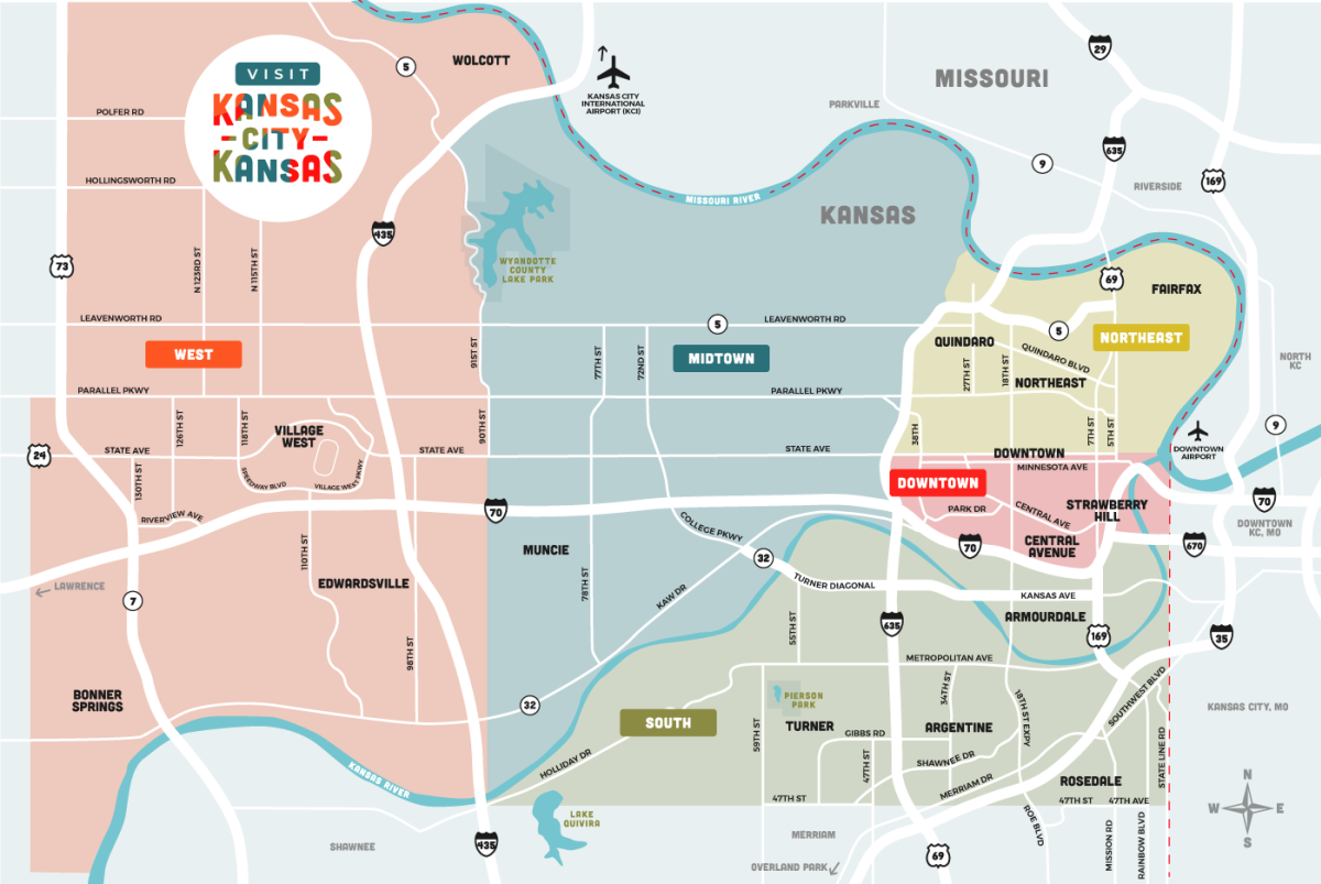 KCK Map Regions