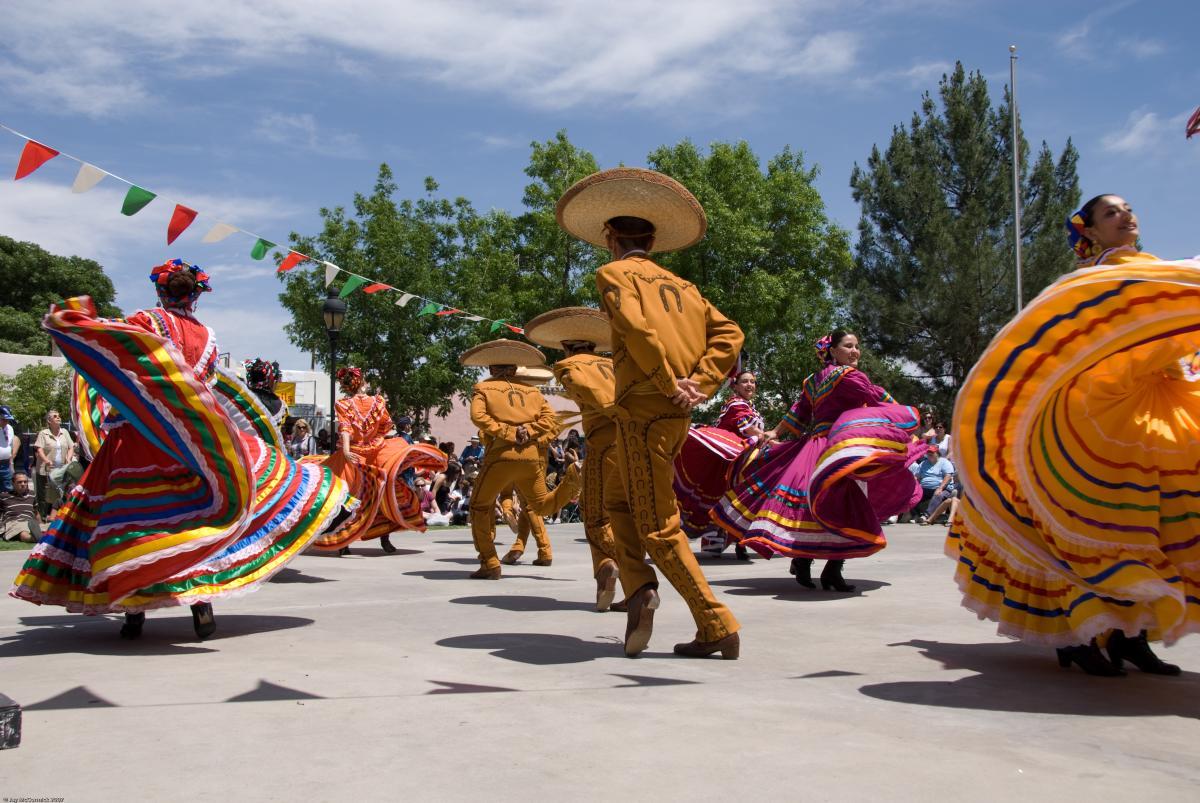 Cinco de Mayo Fiesta in the Town of Mesilla