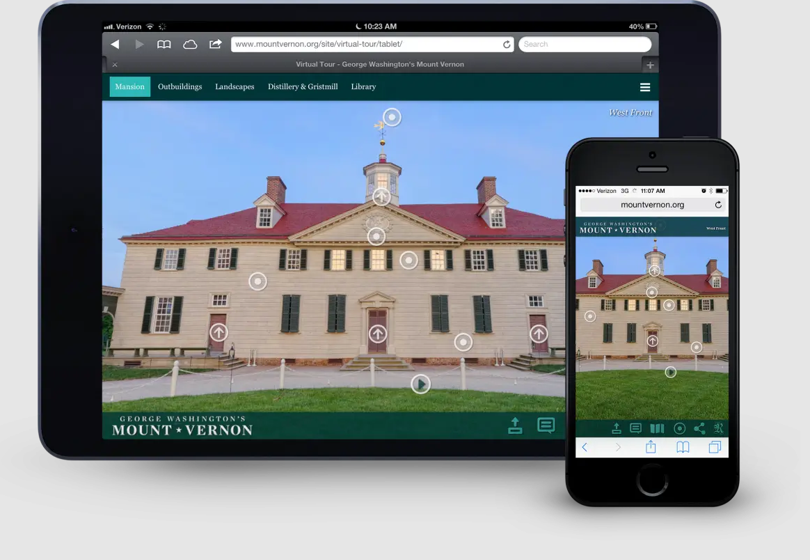 Mount Vernon Virtual Tour