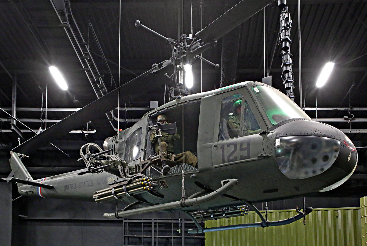 """Huey"" Helicopter - National Museum of the U.S. Army"