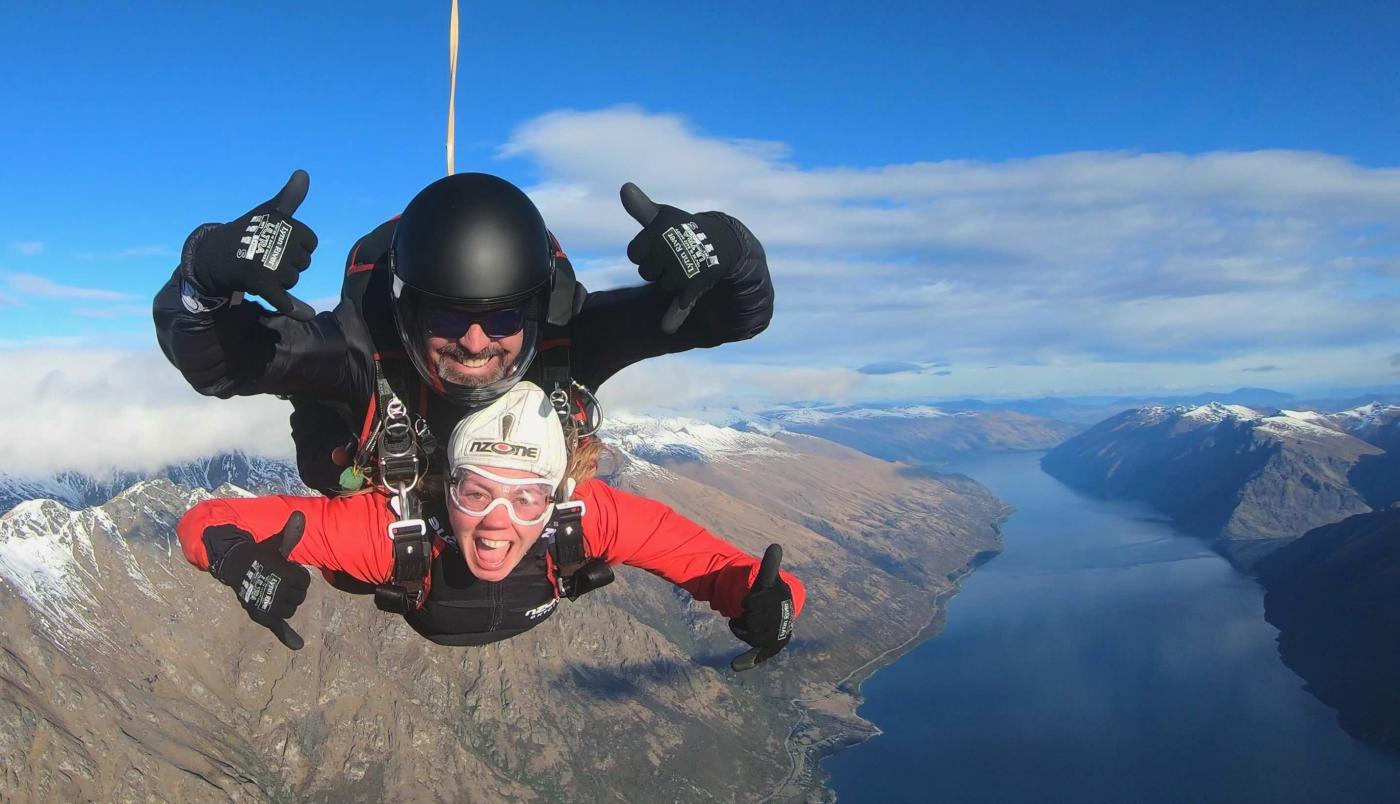 Ken Stone - Skydiver enthusiast & ops manager at NZONE