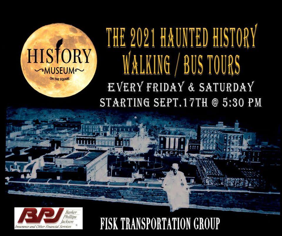 Haunted History Walking Tours 2021