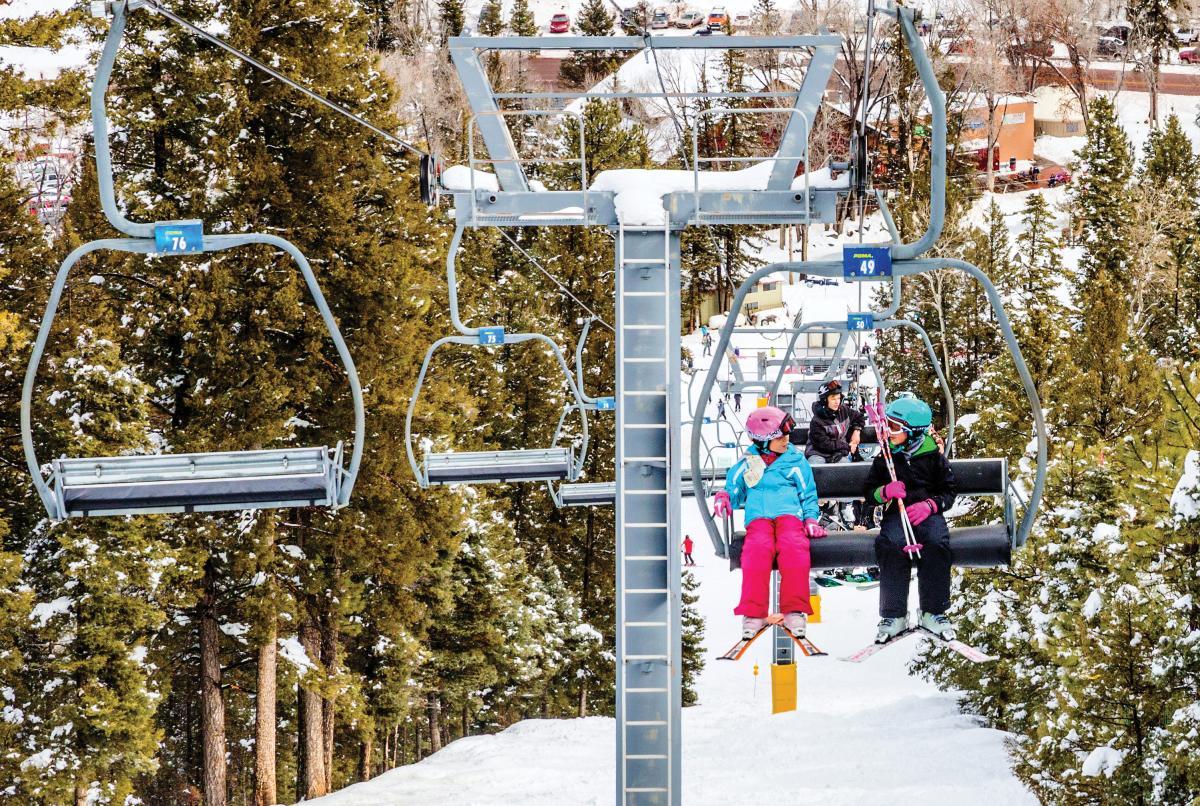 Sipapu Ski Resort's  ski lift