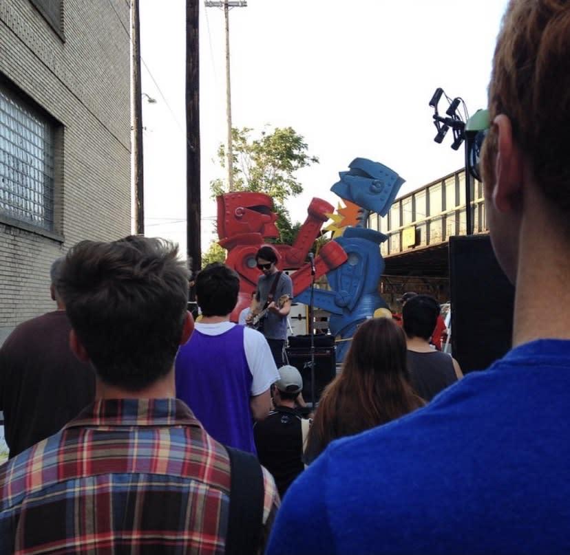 Mandi Caskey's Rock 'em Sock 'em Robots at ID Fest