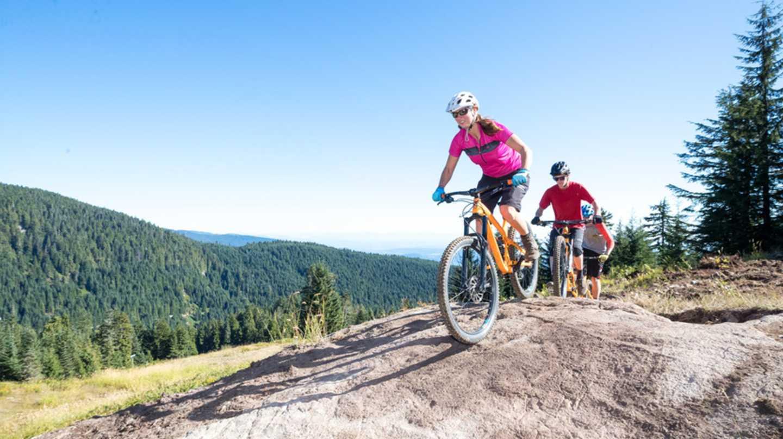 Scenic Mountain Biking Grouse Mountain