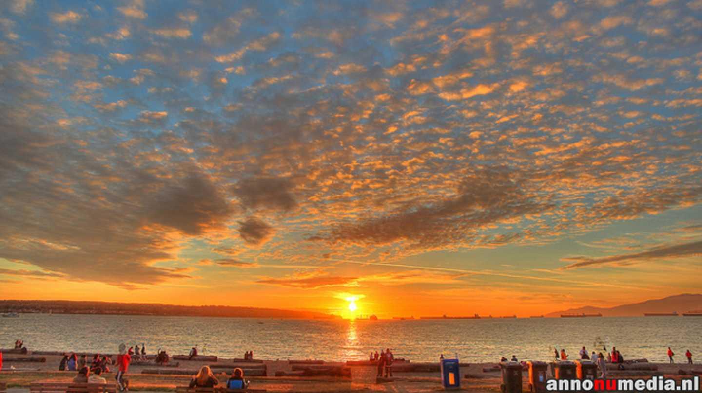 English Bay at Sunset