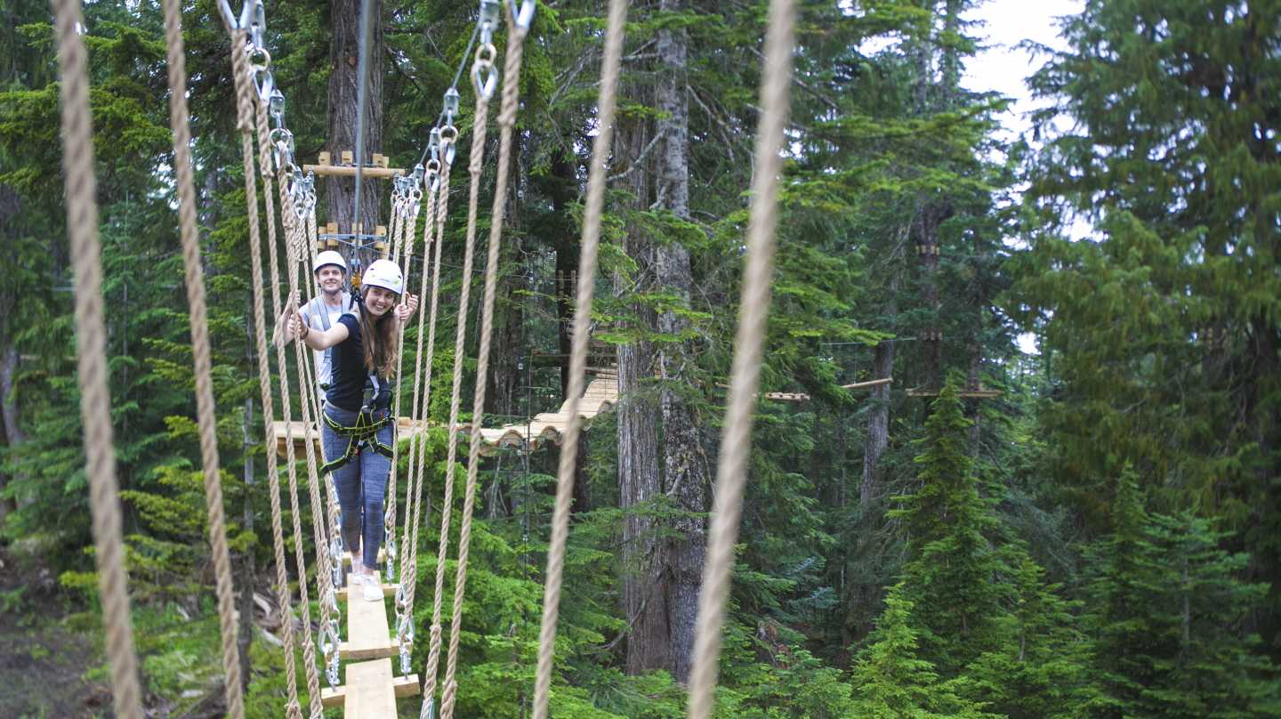 Grouse Mountain Aerial Ropes Adventure
