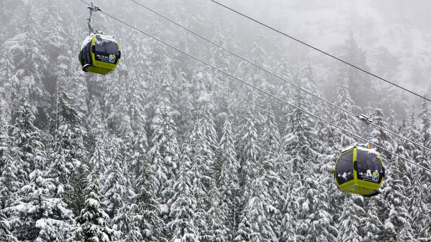 Sea to Sky Gondola Winter