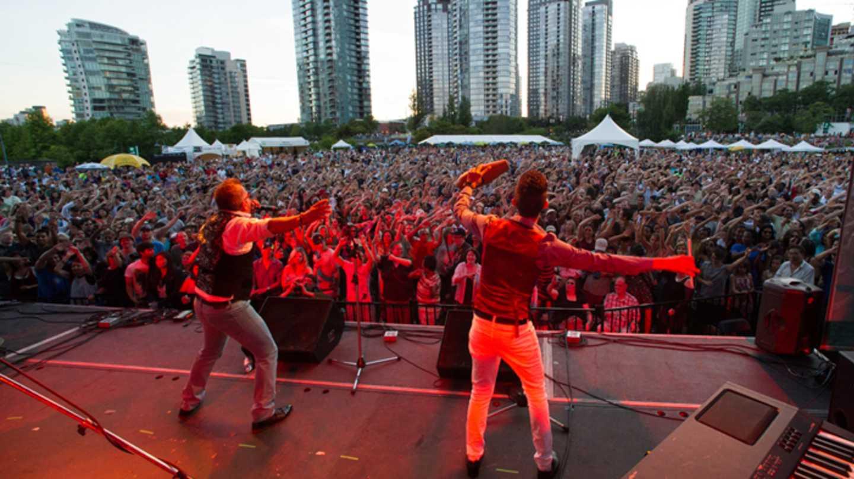 Vancouver International Jazz Festival at David Lam Park