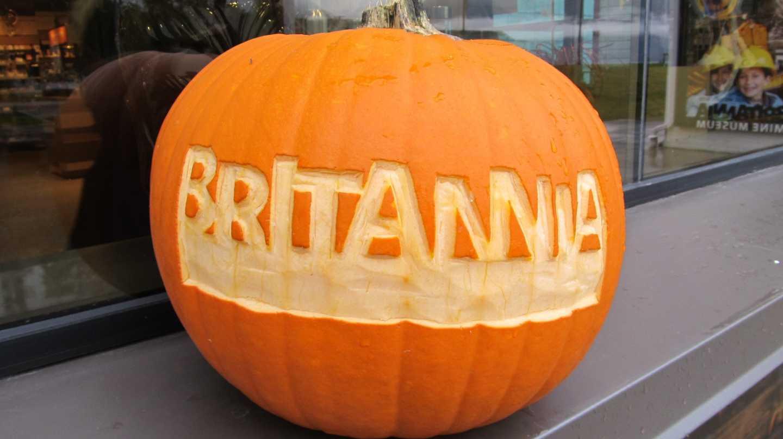 britannia mine halloween
