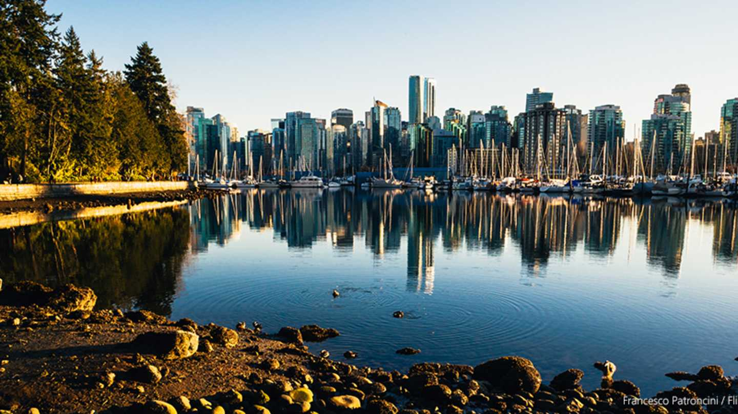 Stanley Park w/ City in the Background