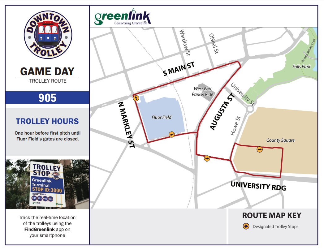Game Day Trolley Route 905 - Screenshot