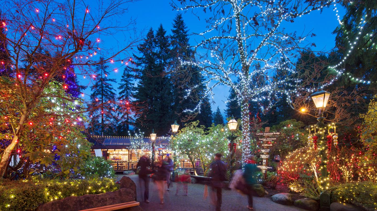 Vancouver Christmas Bridge.Five Ways To Kick Off The Holiday Season In Vancouver