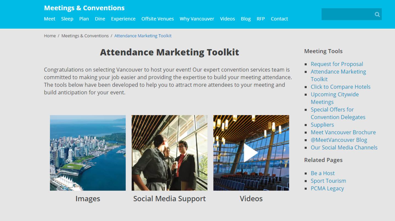 New Attendance Marketing Toolkit
