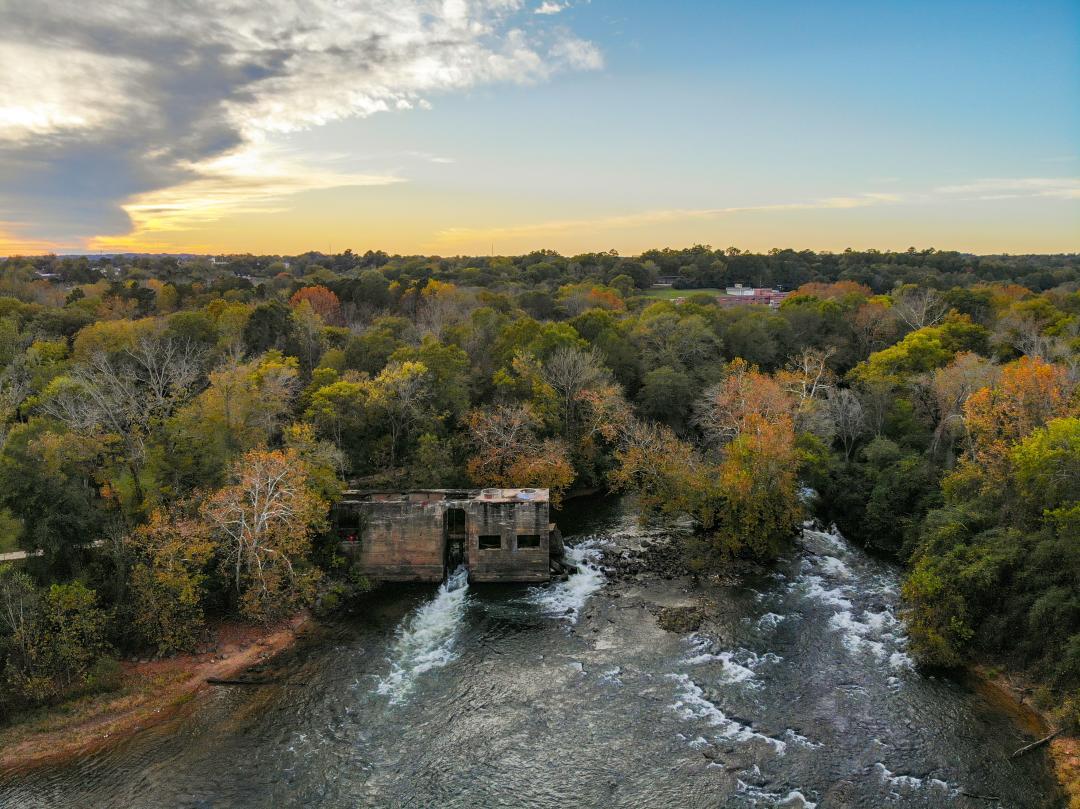 Fall Oconee River